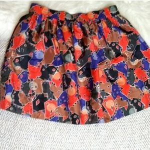 Marc by Marc Jacobs sz S flamingo multicolor skirt